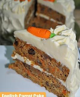 English Carrot Cake