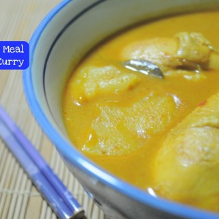 Quick Fix Meal – Chicken Curry