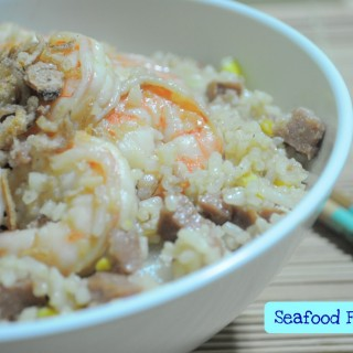 Quick Fix Meal – Seafood Fried Rice