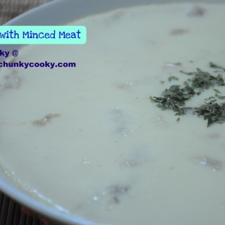 Quick Fix Meal – Steamed Egg with Minced Meat