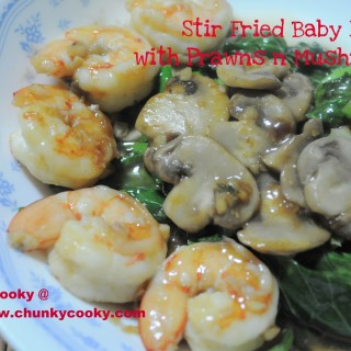 Quick Fix Meal – Stir Fried Baby Kailan