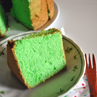Back to the Basics : Pandan Chiffon Cake