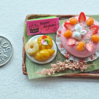 Miniature Food Clay Art #1
