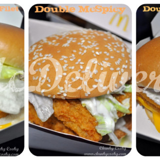 Food Reviews : Burgers @ McDelivery