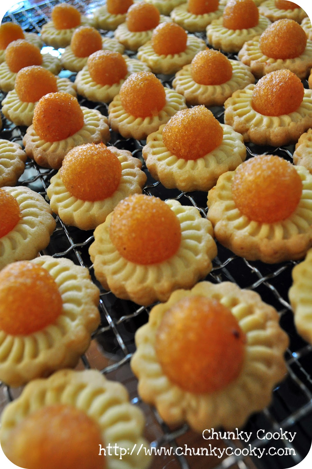 Recipes : Pineapple Tarts & Butter Cookies