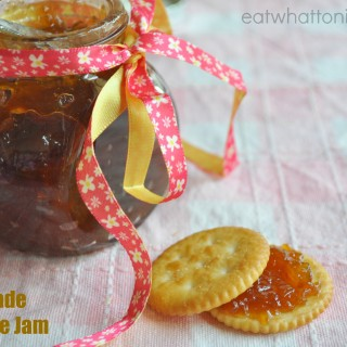 With a Heavy Heart … Home-made Pineapple Jam