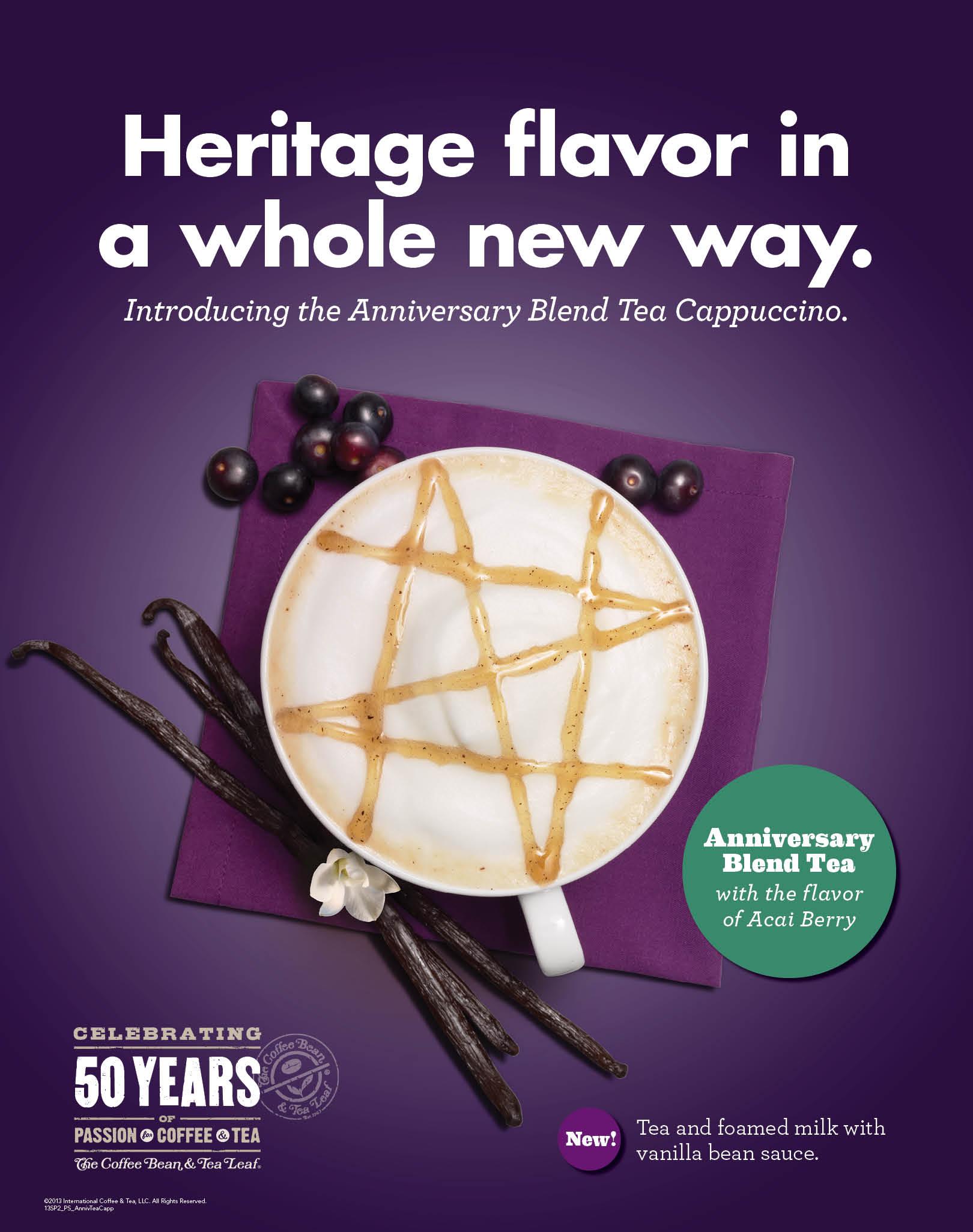 CBTL - Anniversary Blend Tea Cappuccino copy