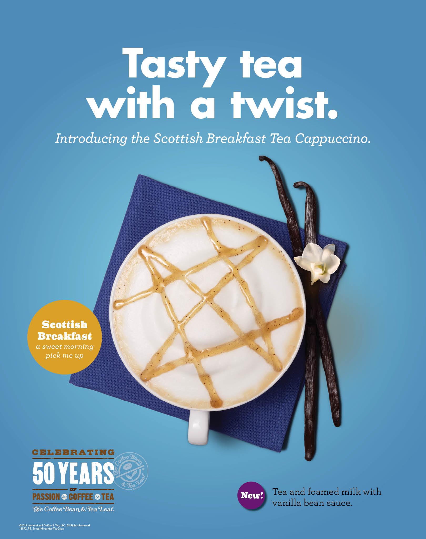 CBTL - Scottish Breakfast Tea Cappuccino copy