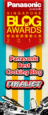 Top 10 Finalist for Panasonic Best Cooking Blog 2013 !!!