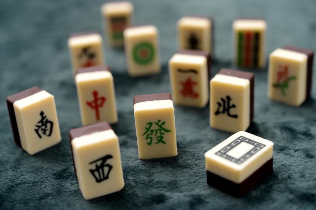 Mahjong Praline Tiles