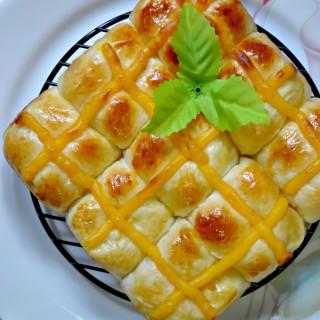 [Recipe] Vanilla Egg Custard Hot Cross Buns