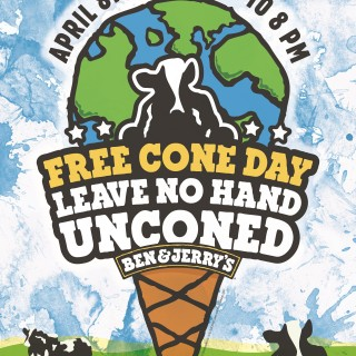 Save the date for Ben & Jerry's Free Cone Day 2014 !!