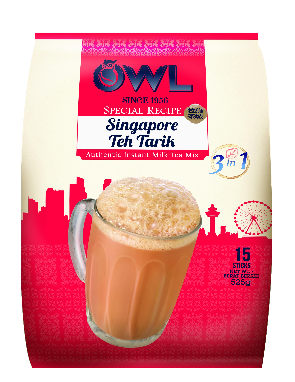 OWL Singapore Tea Tarik