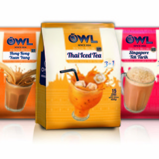 OWL Serves up 3 new Special Recipe Instant Milk Teas  for the World to Enjoy !