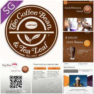 Purchase, top-up and earn loyalty points with first-of-its-kind mobile app at The Coffee Bean & Tea Leaf®