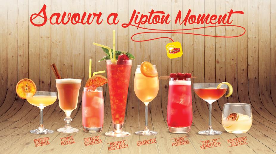 MEDIA RELEASE Lipton George Young and The Cufflink Club collaborate to create cocktail and mocktail recipes with tea