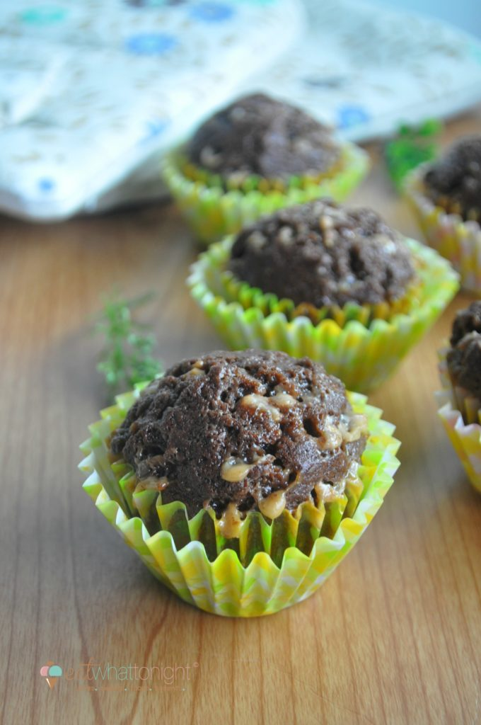 Milo Choco Muffins with English Toffee_Logo