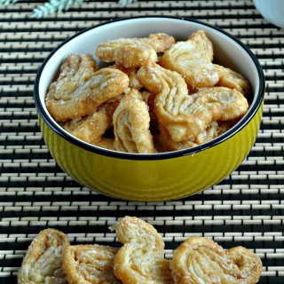 Palmiers (Puff Pastry Cookies)