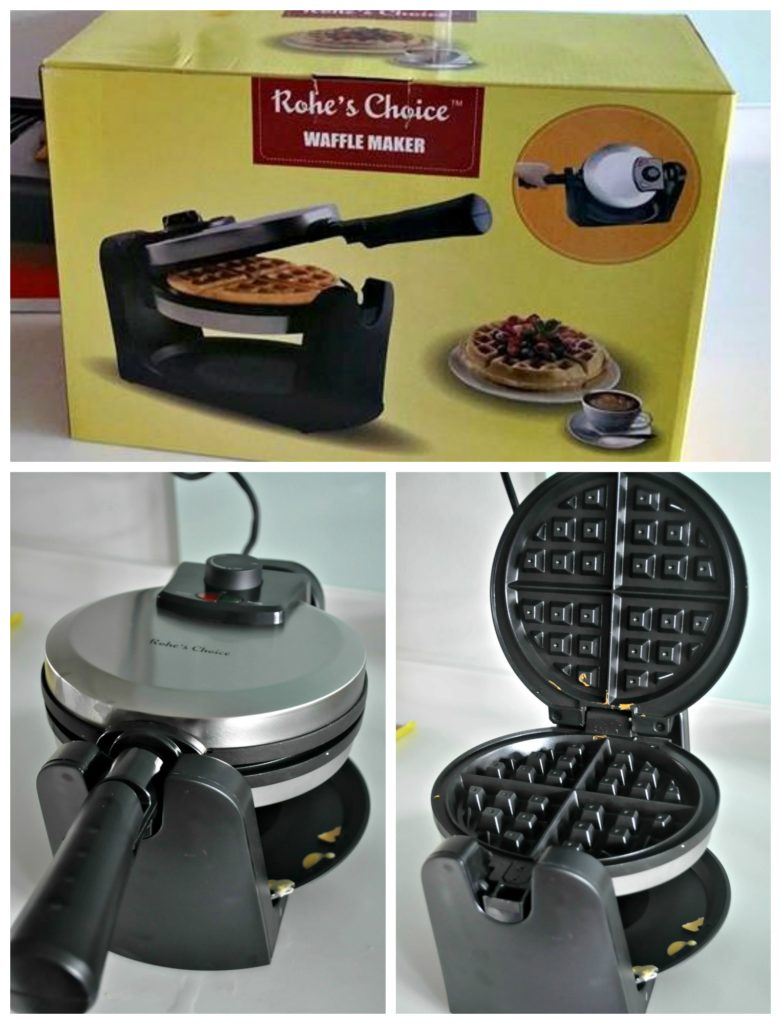 Belgium Waffle Maker Collage