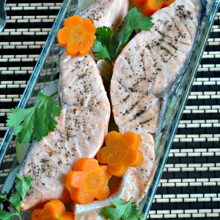 [GIVEAWAY] Free Shopping & Delivery @PurelyFresh + Recipe for Poached Salmon