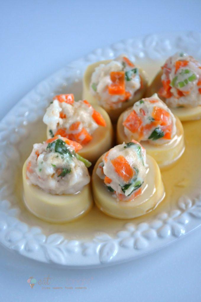 Steamed Tofu W Minced Seafood1_Logo