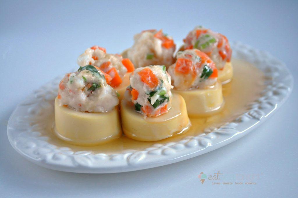 Steamed Tofu W Minced Seafood_Logo