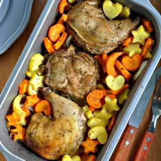 Roasted Herbs Chicken