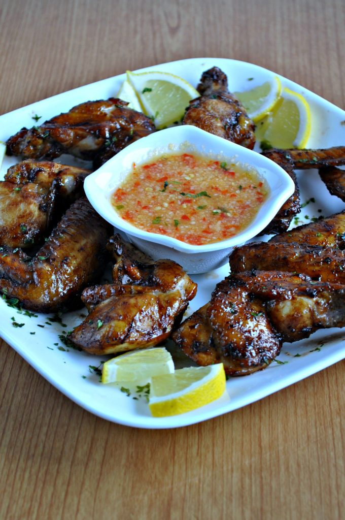 Chinese Style BBQ Grilled Chicken Wings_3