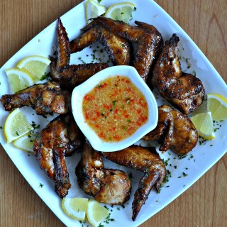 Oven Grilled Chinese Style BBQ Chicken Wings 中式烤鸡翅