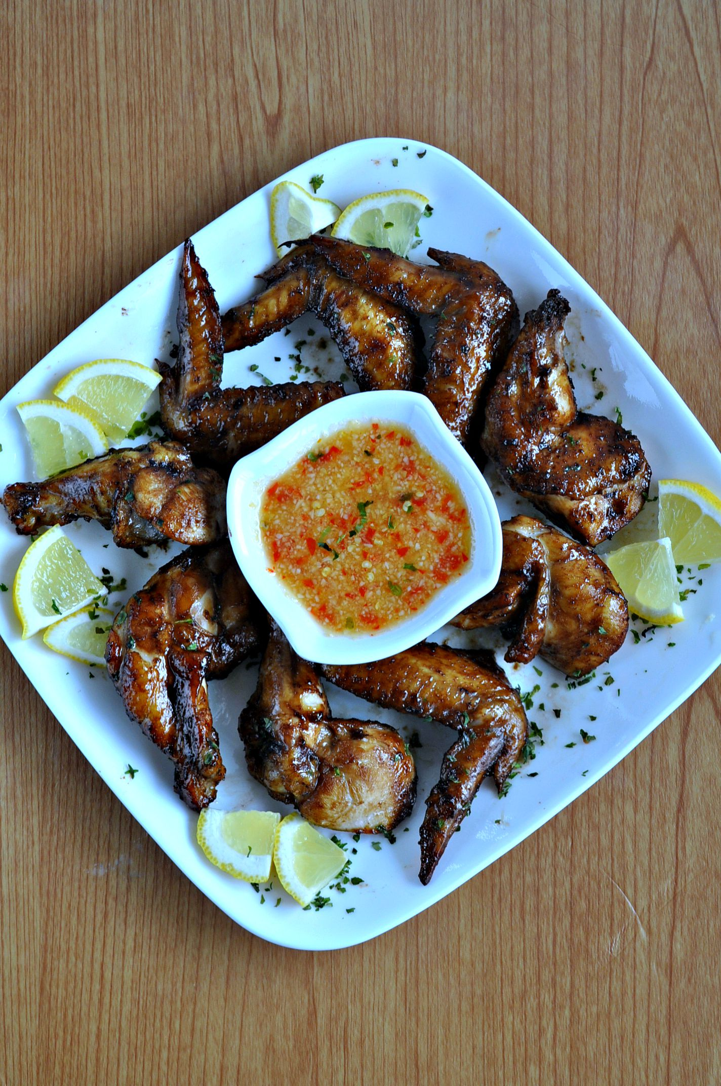 Recipe for chinese bbq chicken wings