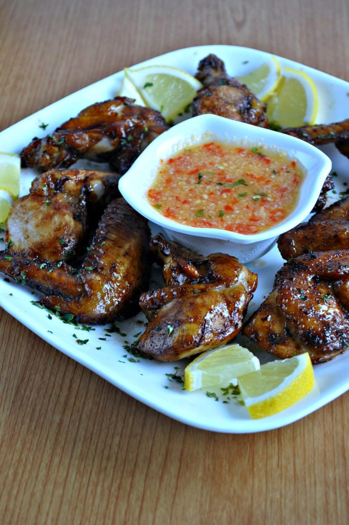 Chinese Style BBQ Grilled Chicken Wings_6