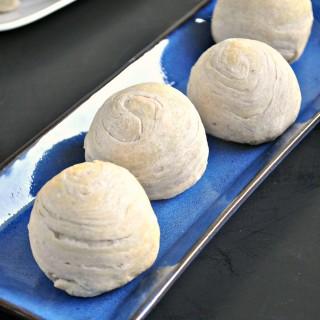 Flaky Taro Mooncakes (Teochew Yam Mooncakes) 千层芋泥酥月饼