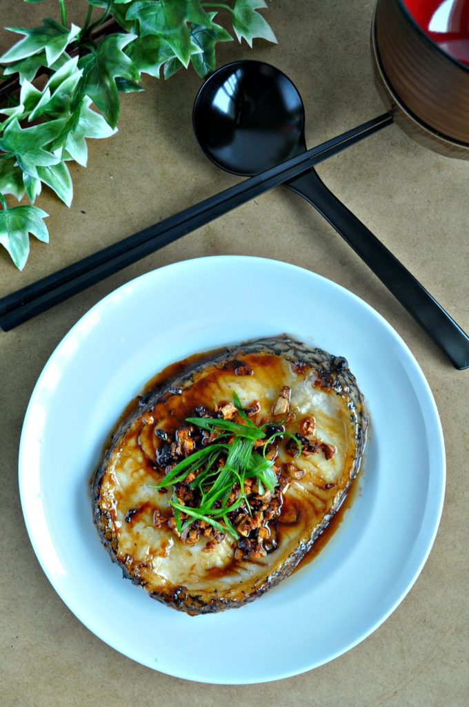 Grilled Cod Fish In Garlic Oyster Sauce_1