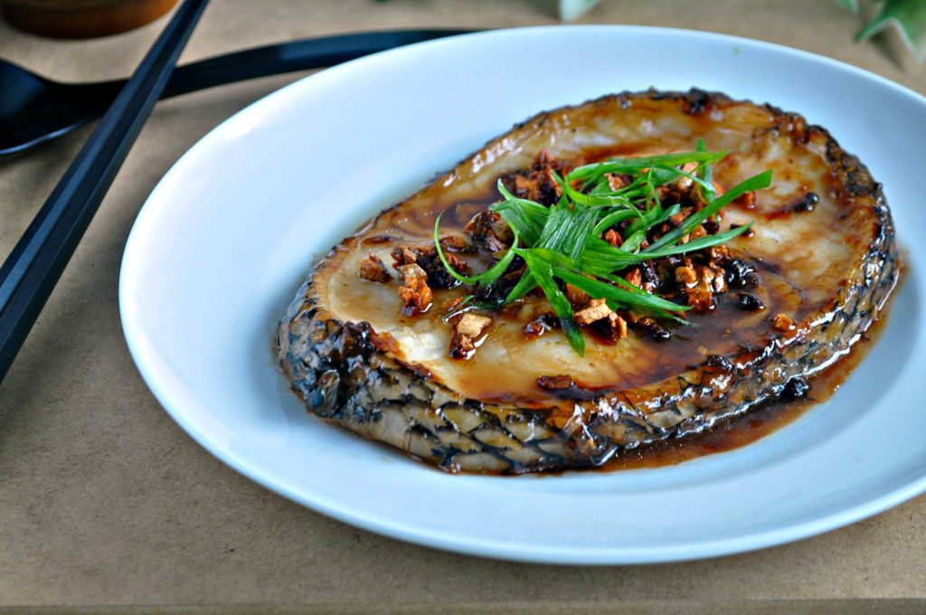 Grilled Cod Fish in Garlic Oyster Sauce_4