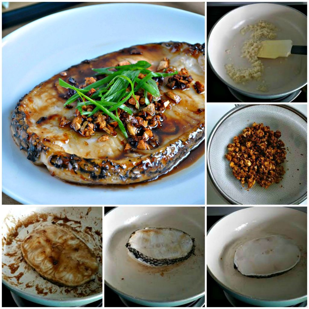 Grilled Cod Fish in Garlic Oyster Sauce_Collage