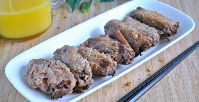 Oven Baked Prawn Paste Chicken 虾酱鸡