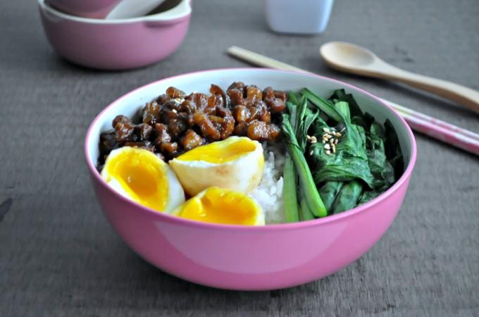 Taiwan Braised Pork Rice_7