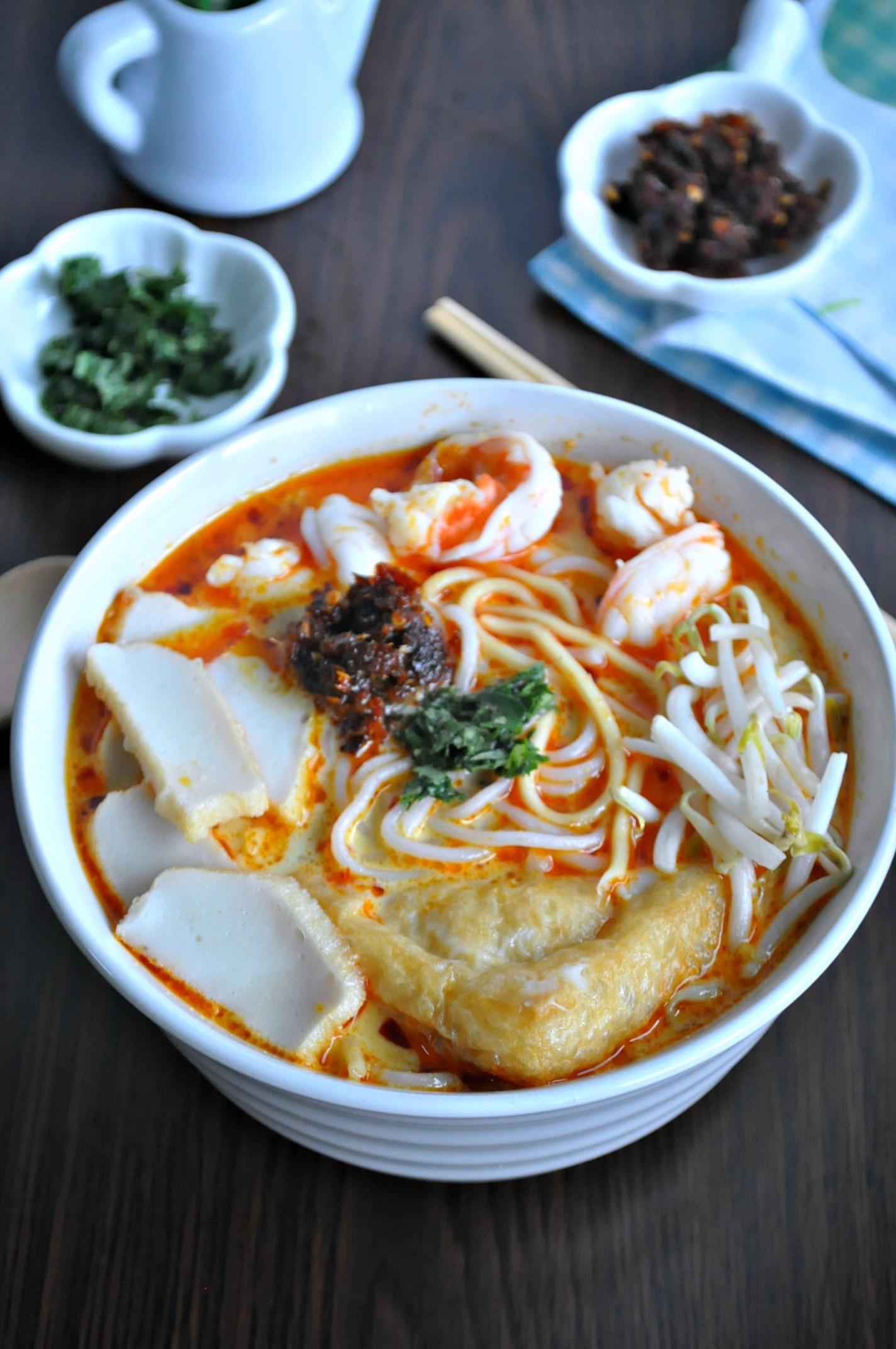 Singapore Laksa 新加坡叻沙 – Eat What Tonight