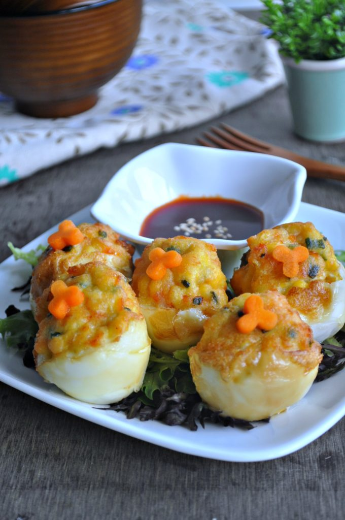 Stuffed Egg Tofu Ngoh Hiang 1-3