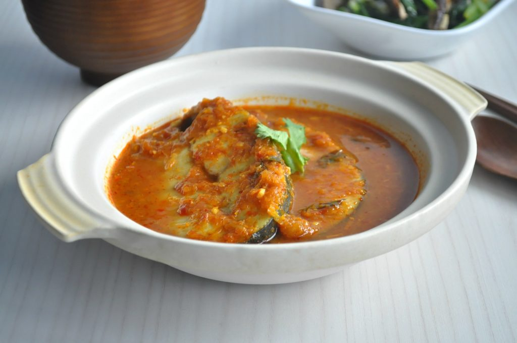 Assam Curry Fish 1