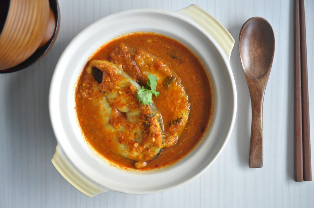 Assam Curry Fish 2