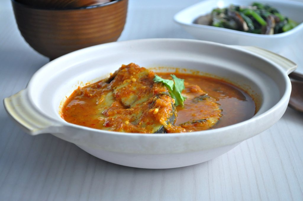 Assam Curry Fish 8