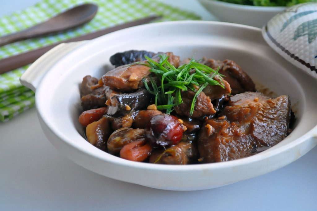 Stewed Chicken w Chestnuts & Mushrooms4