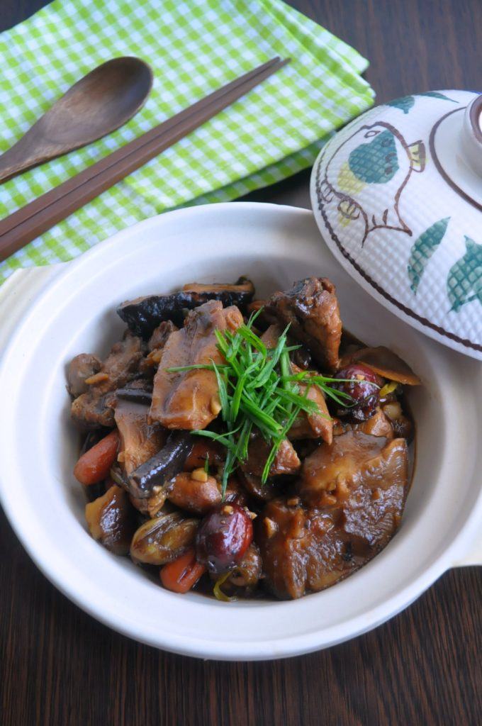 Stewed Chicken w Chestnuts & Mushrooms5