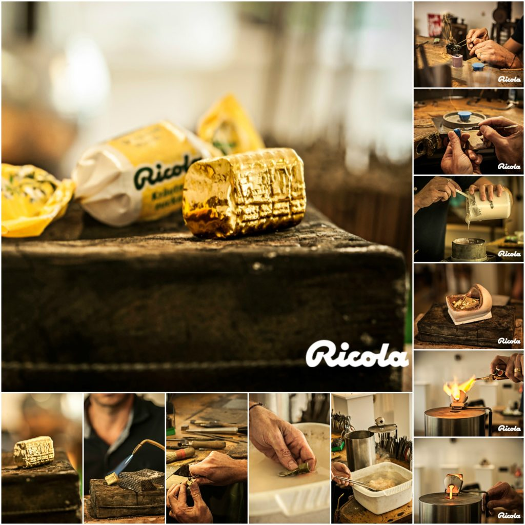 Ricola Collage
