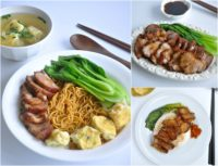 Wanton Noodles Collage