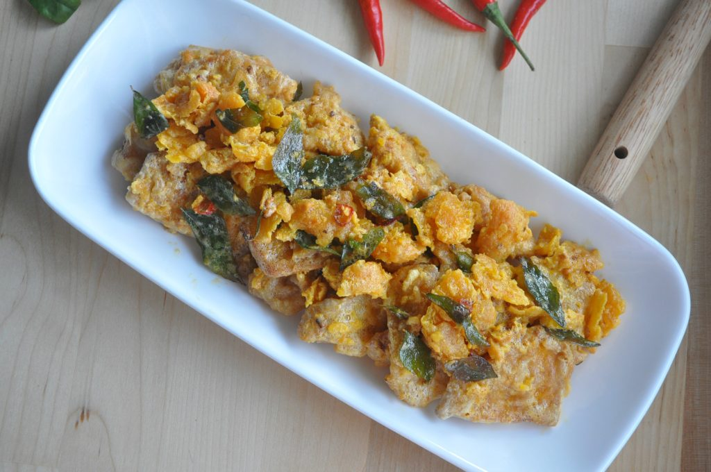 Crispy Salted Egg Yolk Pumpkin_1