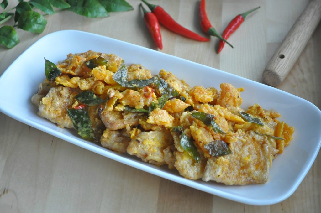 Crispy Salted Egg Yolk Pumpkin_2