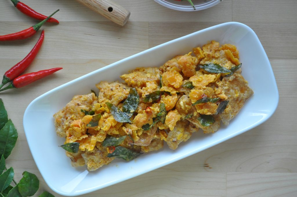 Crispy Salted Egg Yolk Pumpkin_3