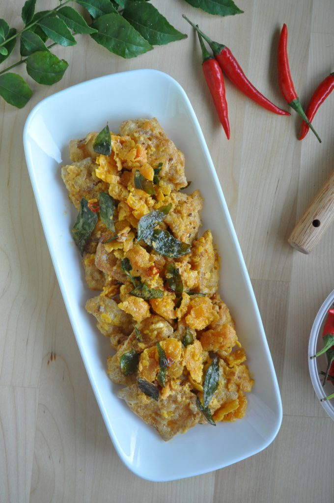 Crispy Salted Egg Yolk Pumpkin_4